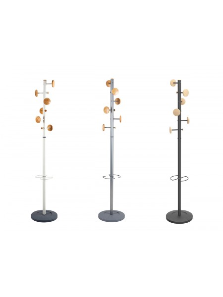 PORTE MANTEAUX DESIGN NOIR MUSIC