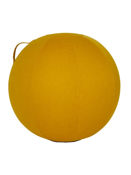 ERGONOMIC SITTING BALL YELLOW SAFFRON